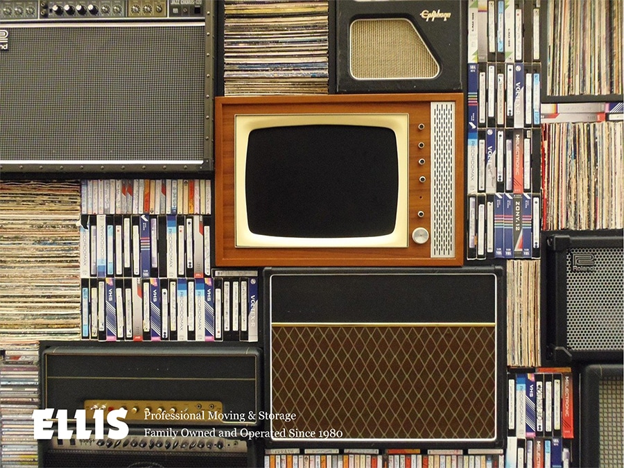 How to Pack Your Books, DVDs, CDs, Software Discs, Records, Audio Cassette Tapes and VHS Tapes
